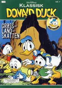 Cover Thumbnail for Klassisk Donald Duck (Hjemmet / Egmont, 2016 series) #7 - Grøsslandskatten