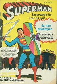 Cover Thumbnail for Superman (Interpresse, 1966 series) #10