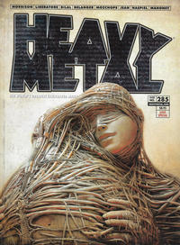 Cover for Heavy Metal Magazine (Heavy Metal, 1977 series) #285 - Love Special [Cover C James Jean]
