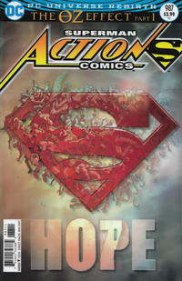 Cover Thumbnail for Action Comics (DC, 2011 series) #987 [Lenticular Cover]