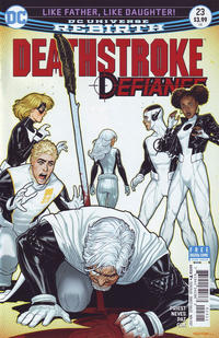 Cover Thumbnail for Deathstroke (DC, 2016 series) #23