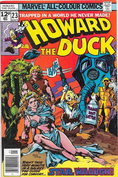 Cover for Howard the Duck (Marvel, 1976 series) #23 [Regular Edition]