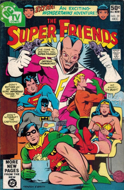 Cover for Super Friends (DC, 1976 series) #39 [Direct]