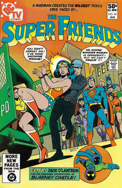 Cover for Super Friends (DC, 1976 series) #40 [Direct]