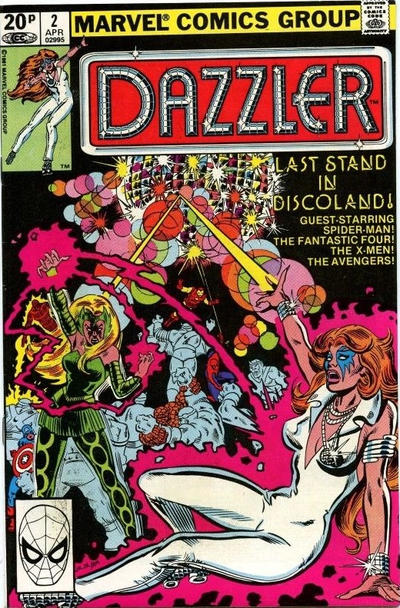 Cover for Dazzler (Marvel, 1981 series) #2 [Newsstand]