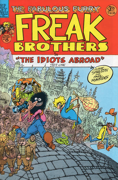 Cover for The Fabulous Furry Freak Brothers (Rip Off Press, 1971 series) #8