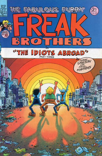 Cover for The Fabulous Furry Freak Brothers (Rip Off Press, 1971 series) #10