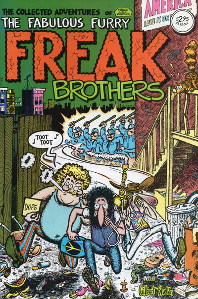 Cover for The Fabulous Furry Freak Brothers (Rip Off Press, 1971 series) #1 [1.25 USD 15th print]