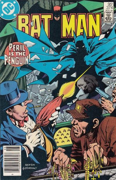 Cover for Batman (DC, 1940 series) #374 [Newsstand]