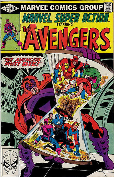 Cover for Marvel Super Action (Marvel, 1977 series) #17 [Direct Edition]