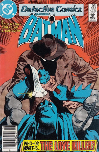Cover for Detective Comics (DC, 1937 series) #565 [Direct Sales]