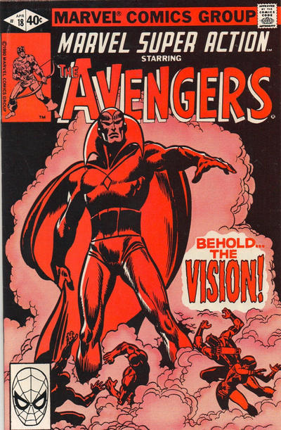 Cover for Marvel Super Action (Marvel, 1977 series) #18 [Direct Edition]