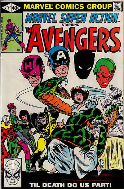 Cover for Marvel Super Action (Marvel, 1977 series) #21 [Direct]