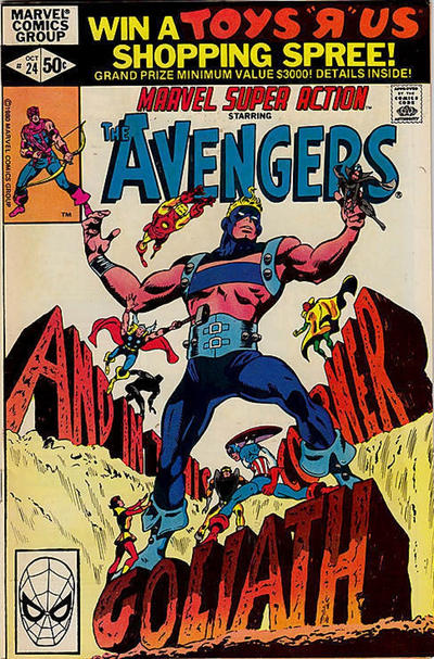 Cover for Marvel Super Action (Marvel, 1977 series) #24 [Direct Edition]
