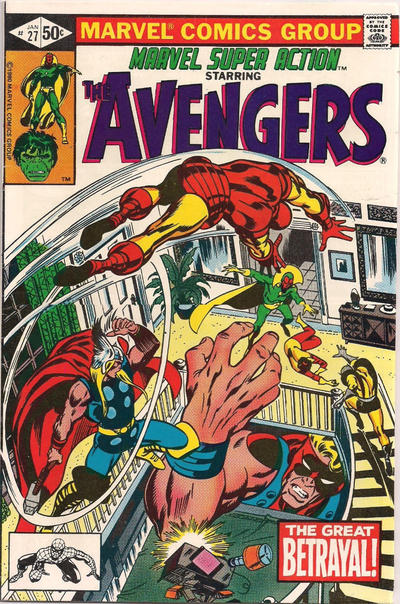 Cover for Marvel Super Action (Marvel, 1977 series) #27 [Direct Edition]