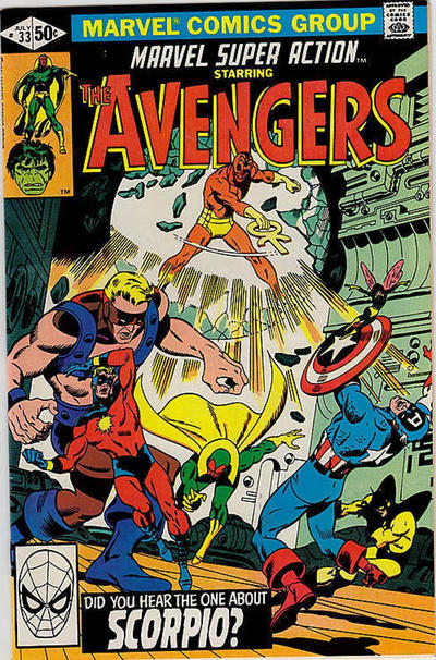 Cover for Marvel Super Action (Marvel, 1977 series) #33 [Direct Edition]