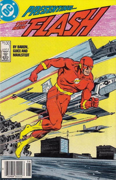 Cover for Flash (DC, 1987 series) #1 [Direct Sales]