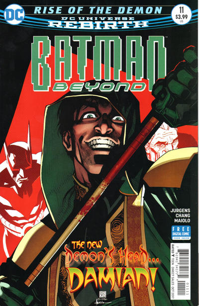 Cover for Batman Beyond (DC, 2016 series) #11