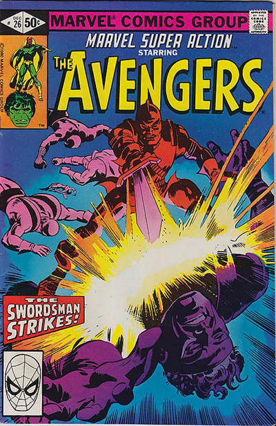 Cover for Marvel Super Action (Marvel, 1977 series) #26 [Direct Edition]