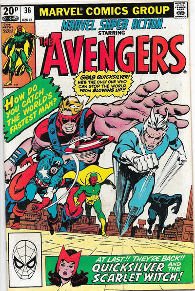 Cover for Marvel Super Action (Marvel, 1977 series) #36 [Direct Edition]