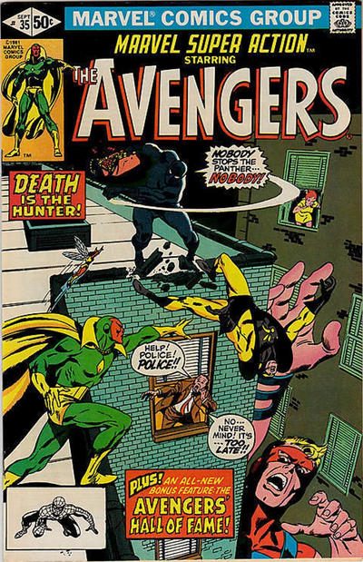 Cover for Marvel Super Action (Marvel, 1977 series) #35 [Direct Edition]