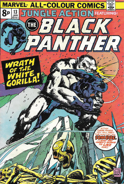 Cover for Jungle Action (Marvel, 1972 series) #13 [Regular Edition]