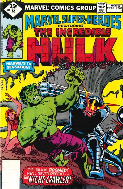 Cover for Marvel Super-Heroes (Marvel, 1967 series) #78 [Regular Edition]