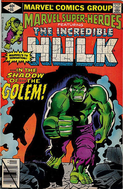 Cover for Marvel Super-Heroes (Marvel, 1967 series) #86 [Direct Edition]