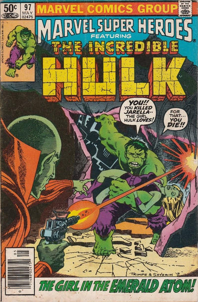 Cover for Marvel Super-Heroes (Marvel, 1967 series) #97 [Direct Edition]
