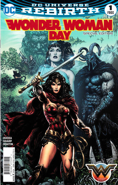 Cover for Wonder Woman 1 Wonder Woman Day Special Edition (DC, 2017 series) #1
