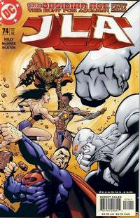 Cover for JLA (DC, 1997 series) #74