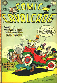 Cover Thumbnail for Comic Cavalcade (DC, 1942 series) #49