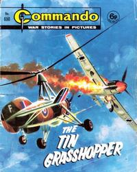 Cover Thumbnail for Commando (D.C. Thomson, 1961 series) #650