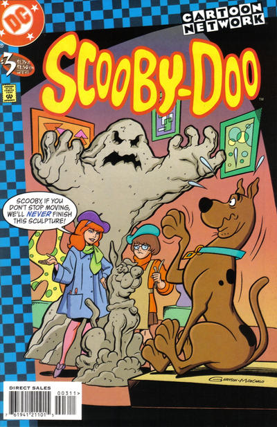 Cover for Scooby-Doo (DC, 1997 series) #3 [Direct Sales]