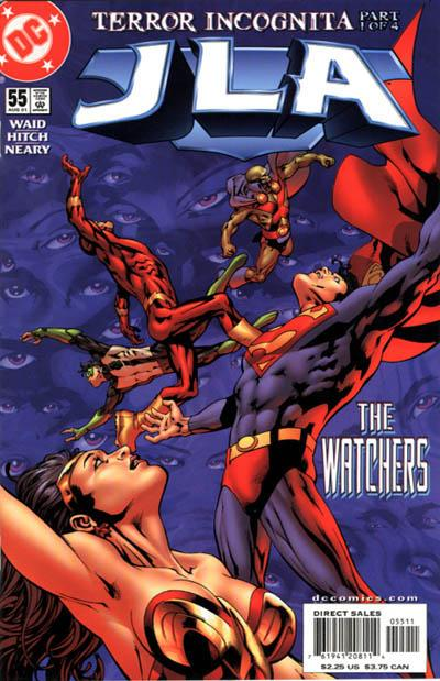 Cover for JLA (DC, 1997 series) #55