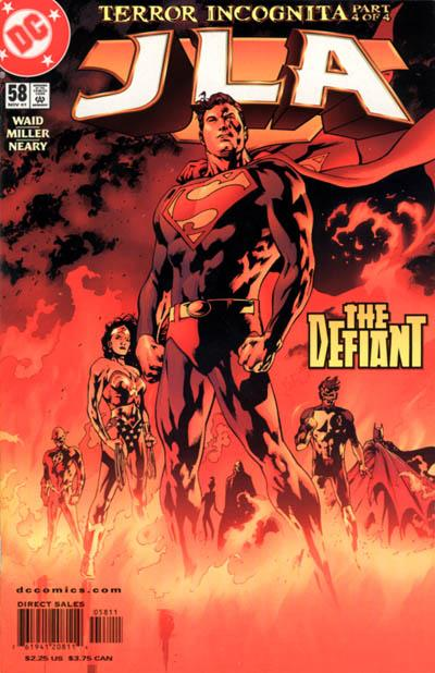 Cover for JLA (DC, 1997 series) #58