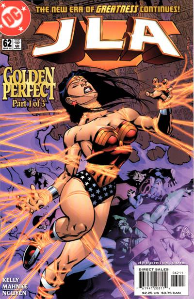 Cover for JLA (DC, 1997 series) #62