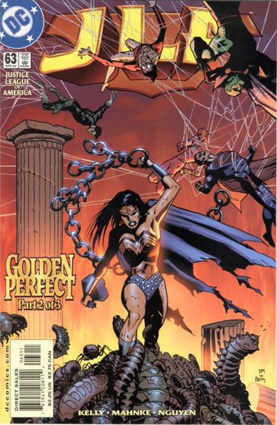 Cover for JLA (DC, 1997 series) #63
