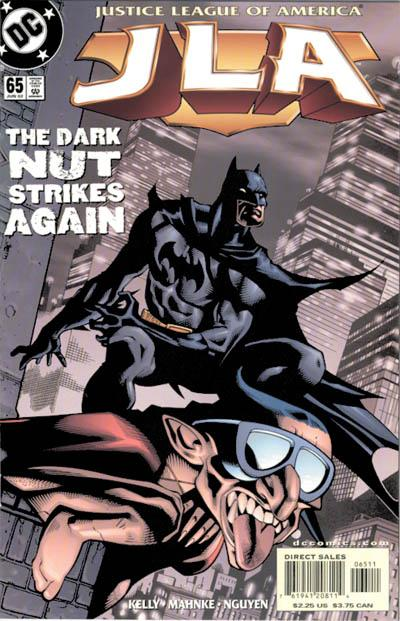 Cover for JLA (DC, 1997 series) #65