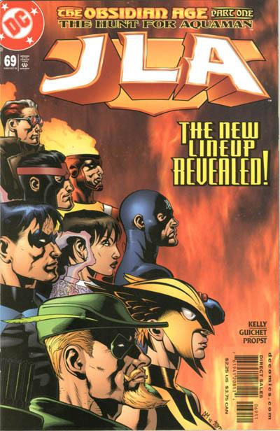 Cover for JLA (DC, 1997 series) #69