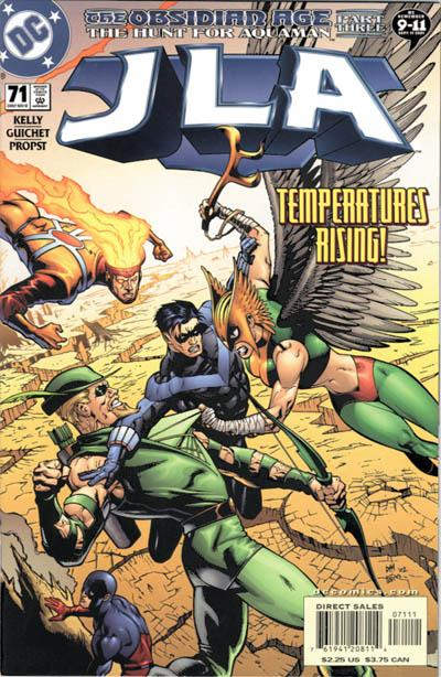 Cover for JLA (DC, 1997 series) #71