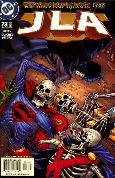 Cover for JLA (DC, 1997 series) #73