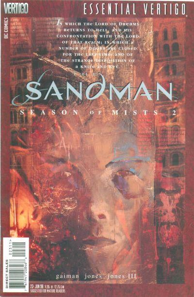 Cover for Essential Vertigo: The Sandman (DC, 1996 series) #23