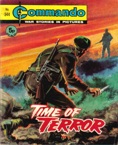 Cover for Commando (D.C. Thomson, 1961 series) #544
