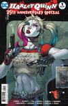 Cover Thumbnail for Harley Quinn 25th Anniversary Special (2017 series) #1 [Jim Lee / Scott Williams Cover]