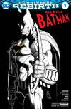 Cover Thumbnail for All Star Batman (2016 series) #1 [Convention Exclusive John Romita Jr Silver Foil Variant]