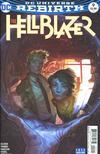 Cover for Hellblazer (DC, 2016 series) #9 [Yasmine Putri Cover Variant]
