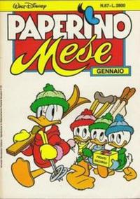 Cover Thumbnail for Paperino Mese (Arnoldo Mondadori Editore, 1986 series) #67