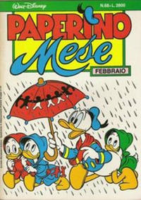 Cover Thumbnail for Paperino Mese (Arnoldo Mondadori Editore, 1986 series) #68