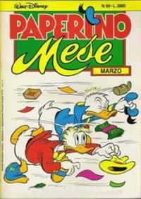 Cover Thumbnail for Paperino Mese (Arnoldo Mondadori Editore, 1986 series) #69